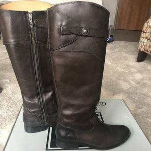 Frye Shoes - Frye Molly Button Tall Riding Boots